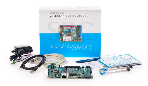 phyBOARD-Sargas STM32MP1 Development Kit
