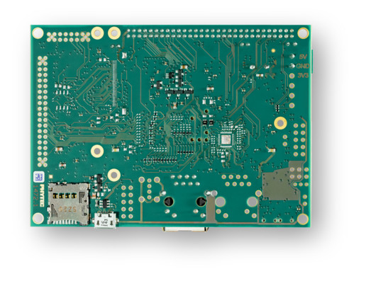 phyBOARD-Segin i.MX 6UL Back
